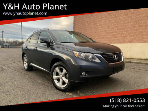 2011 Lexus RX 350 for sale at Y&H Auto Planet in West Sand Lake NY