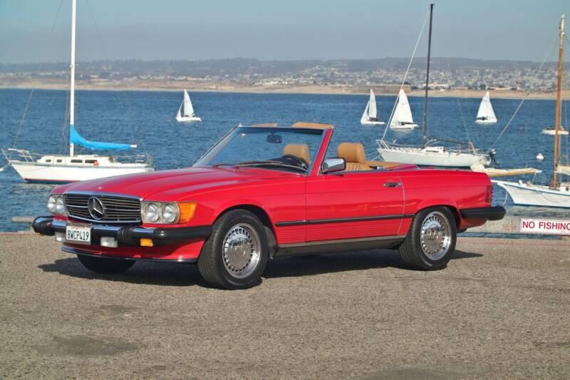 1988 Mercedes-Benz 560-Class for sale at Dodi Auto Sales in Monterey CA