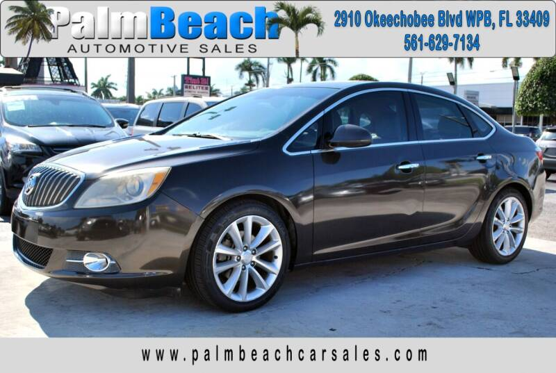 2013 Buick Verano for sale at Palm Beach Automotive Sales in West Palm Beach FL