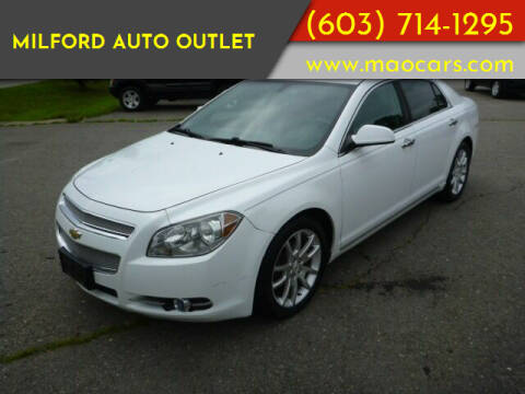 2011 Chevrolet Malibu for sale at Milford Auto Outlet in Milford NH