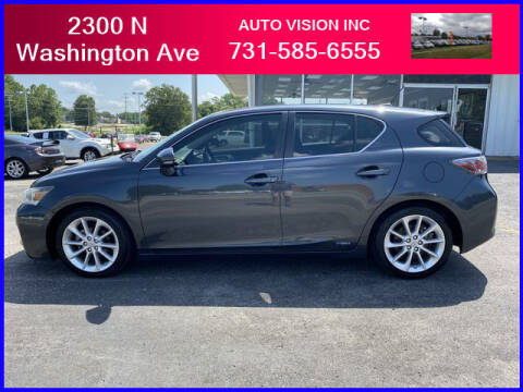 2011 Lexus CT 200h for sale at Auto Vision Inc. in Brownsville TN