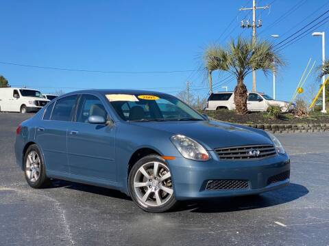 2005 Infiniti G35 for sale at Rock 'n Roll Auto Sales in West Columbia SC