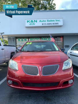 2005 Pontiac Vibe for sale at K&N Auto Sales in Tampa FL