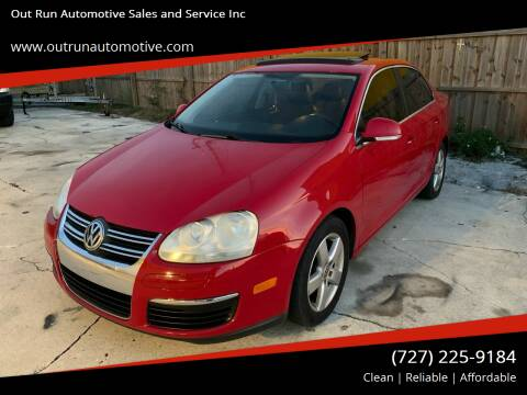 2009 Volkswagen Jetta for sale at Out Run Automotive Sales and Service Inc in Tampa FL