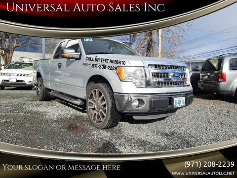 2013 Ford F-150 for sale at Universal Auto Sales Inc in Salem OR