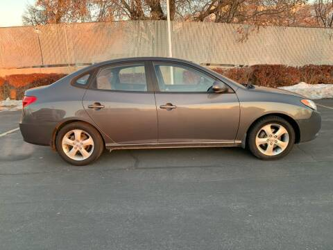 2007 Hyundai Elantra for sale at BITTON'S AUTO SALES in Ogden UT