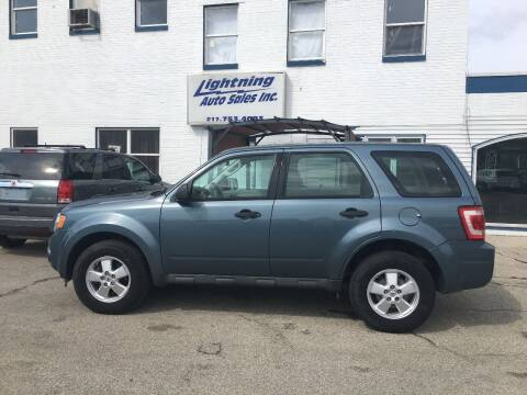 2012 Ford Escape for sale at Lightning Auto Sales in Springfield IL