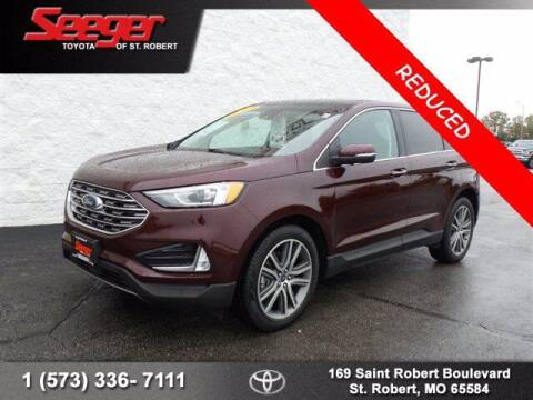 2019 Ford Edge for sale at SEEGER TOYOTA OF ST ROBERT in St Robert MO