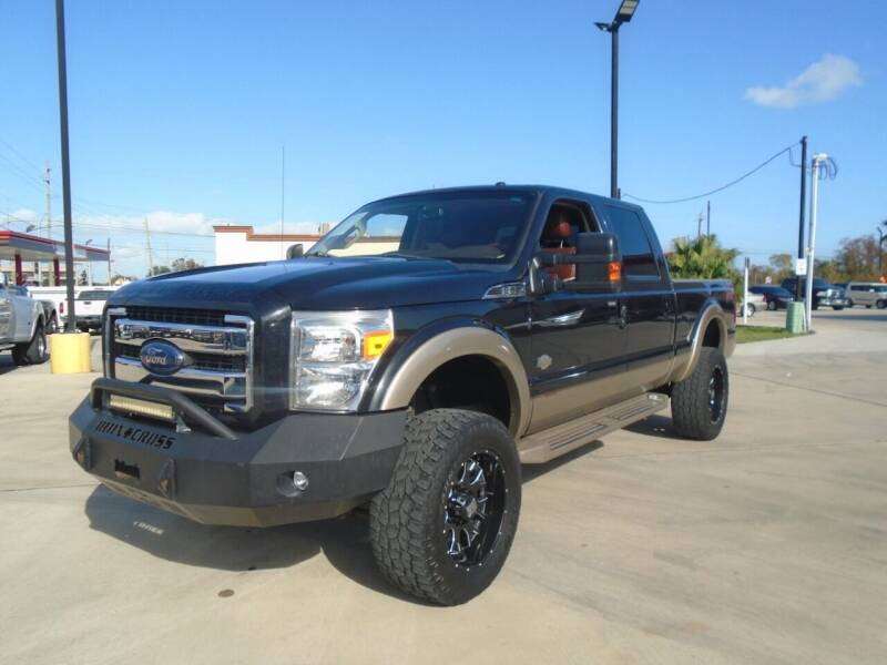 2014 Ford F-250 Super Duty 4x4 King Ranch 4dr Crew Cab 6.8 ft. SB Pickup - Houston TX