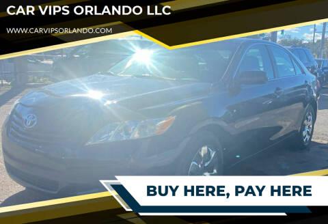 2009 Toyota Camry for sale at CAR VIPS ORLANDO LLC in Orlando FL