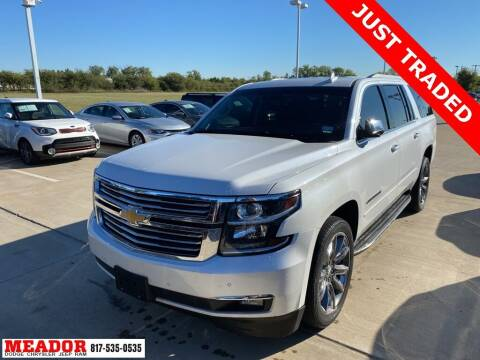 2016 Chevrolet Suburban for sale at Meador Dodge Chrysler Jeep RAM in Fort Worth TX