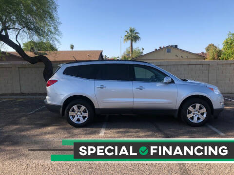 2012 Chevrolet Traverse for sale at UR APPROVED AUTO SALES LLC in Tempe AZ