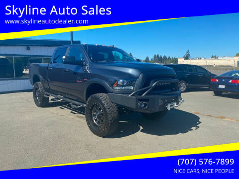 2018 RAM Ram Pickup 2500 for sale at Skyline Auto Sales in Santa Rosa CA
