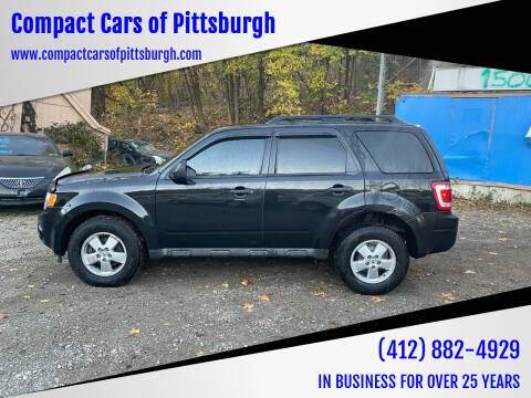 2011 Ford Escape for sale at Compact Cars of Pittsburgh in Pittsburgh PA