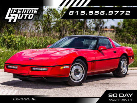 1987 Chevrolet Corvette for sale at Lifetime Auto in Elwood IL
