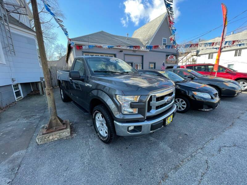 2016 Ford F-150 for sale at JK & Sons Auto Sales in Westport MA