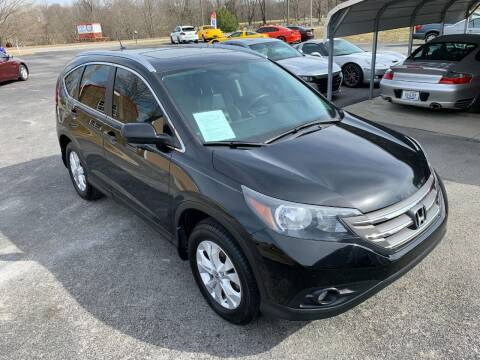 2012 Honda CR-V for sale at Hillside Motors in Jamestown KY