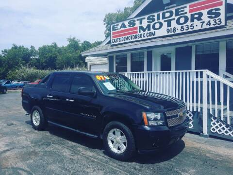 2007 Chevrolet Avalanche for sale at EASTSIDE MOTORS in Tulsa OK