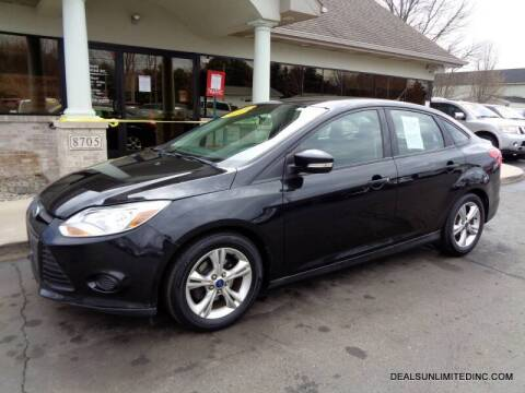 2014 Ford Focus for sale at DEALS UNLIMITED INC in Portage MI