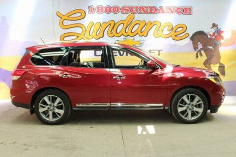 2016 Nissan Pathfinder for sale at Sundance Chevrolet in Grand Ledge MI