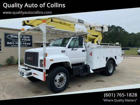 1999 GMC C7500 for sale at Quality Auto of Collins in Collins MS