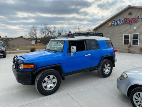 2008 Toyota FJ Cruiser for sale at The Auto Depot in Mount Morris MI