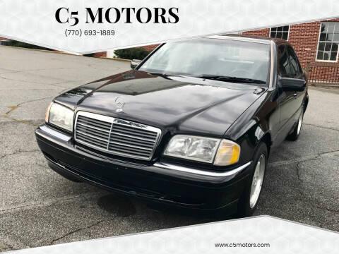 1999 Mercedes-Benz C-Class for sale at C5 Motors in Marietta GA