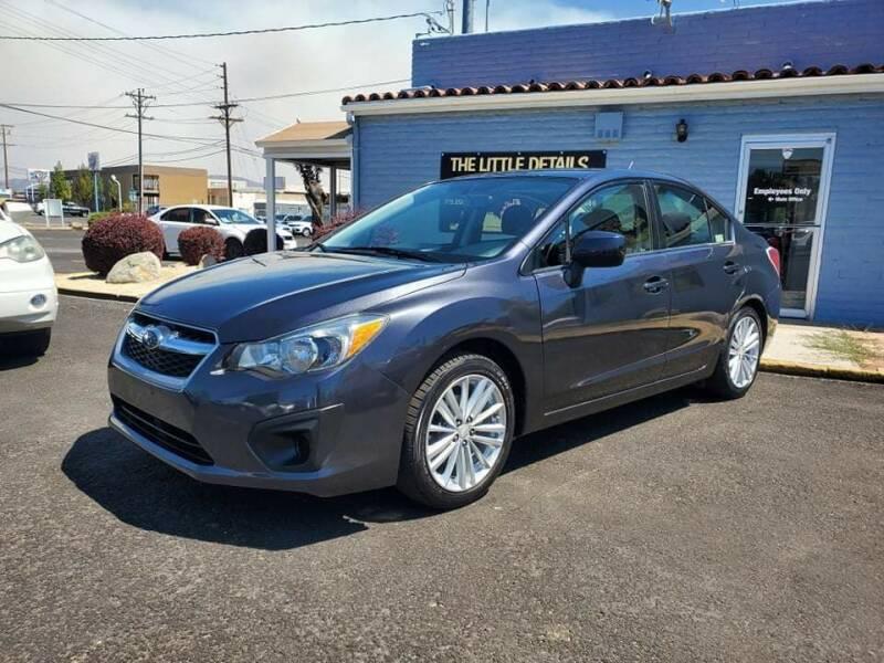 2013 Subaru Impreza for sale at The Little Details Auto Sales in Reno NV