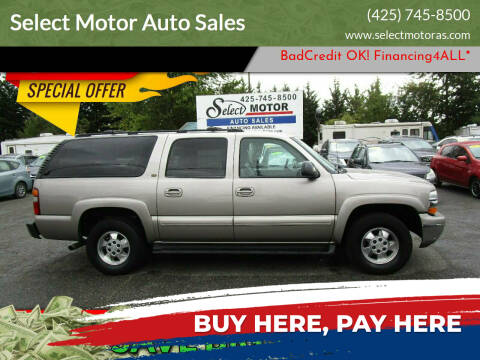 2002 Chevrolet Suburban for sale at Select Motor Auto Sales in Lynnwood WA