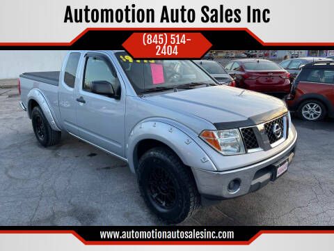 2007 Nissan Frontier for sale at Automotion Auto Sales Inc in Kingston NY