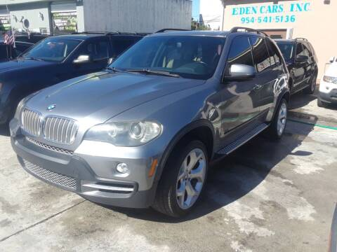 2007 BMW X5 for sale at Eden Cars Inc in Hollywood FL