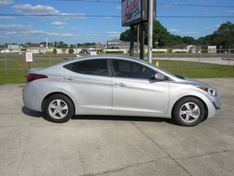 2015 Hyundai Elantra for sale at Checkered Flag Auto Sales NORTH in Lakeland FL