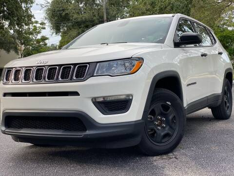 2018 Jeep Compass for sale at HIGH PERFORMANCE MOTORS in Hollywood FL