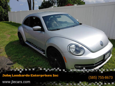 2012 Volkswagen Beetle for sale at John Lombardo Enterprises Inc in Rochester NY