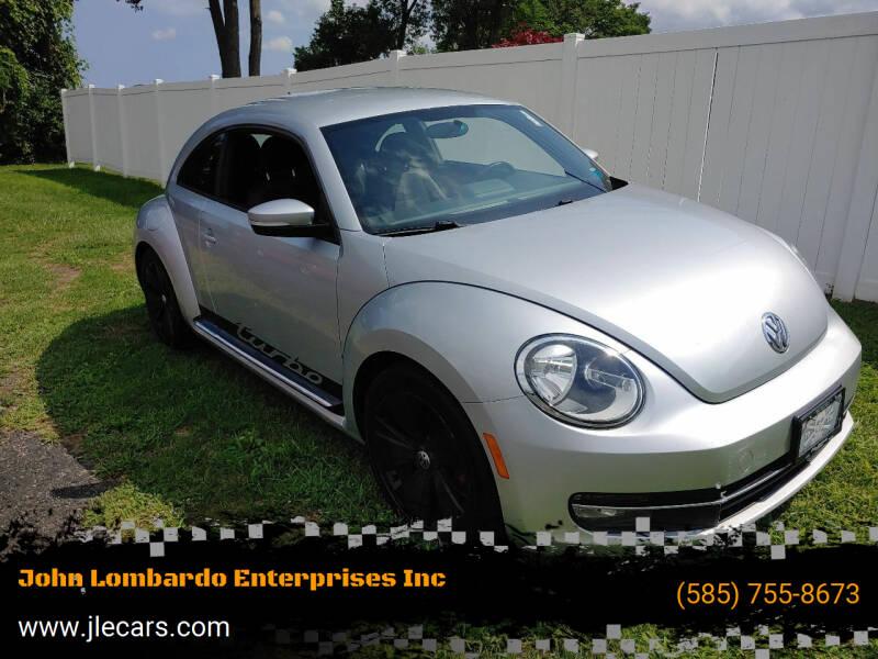 2012 Volkswagen Beetle for sale at John Lombardo Enterprises Inc in Rochester NY