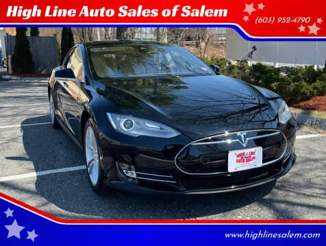 2016 Tesla Model S for sale at High Line Auto Sales of Salem in Salem NH