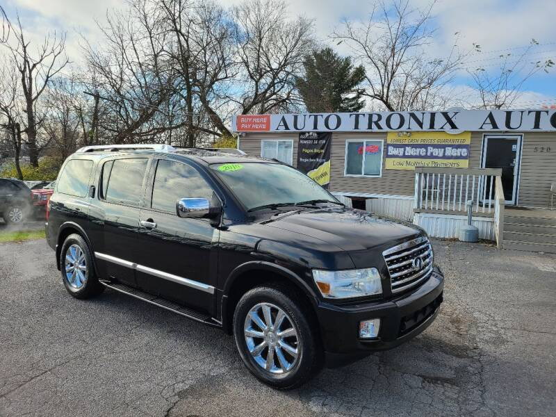 2010 Infiniti QX56 for sale at Auto Tronix in Lexington KY