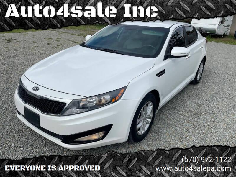 2012 Kia Optima for sale at Auto4sale Inc in Mount Pocono PA