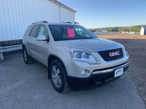 2012 GMC Acadia for sale at TRUCK & AUTO SALVAGE in Valley City ND