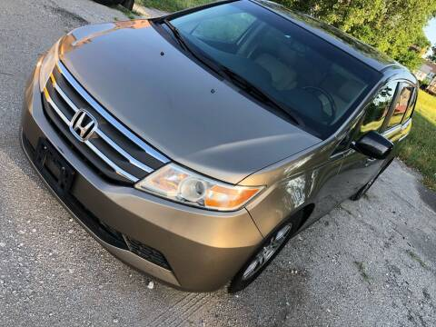 2011 Honda Odyssey for sale at Supreme Auto Gallery LLC in Kansas City MO