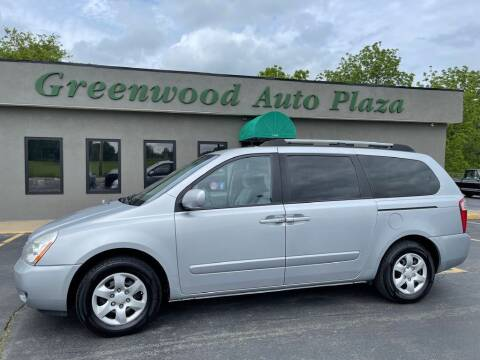 2008 Kia Sedona for sale at Greenwood Auto Plaza in Greenwood MO