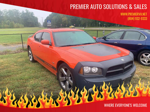 2008 Dodge Charger for sale at Premier Auto Solutions & Sales in Quinton VA