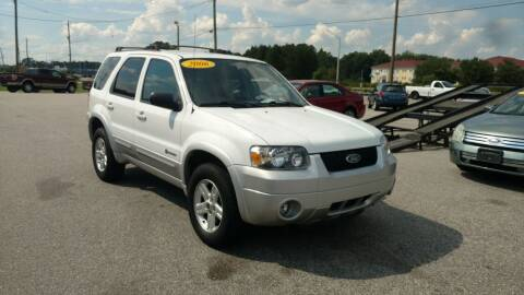 2006 Ford Escape Hybrid for sale at Kelly & Kelly Supermarket of Cars in Fayetteville NC