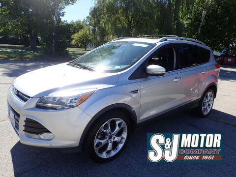 2014 Ford Escape for sale at S & J Motor Co Inc. in Merrimack NH