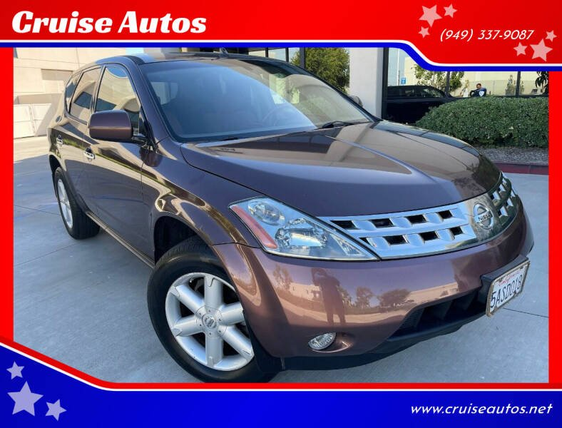 2003 Nissan Murano for sale at Cruise Autos in Corona CA
