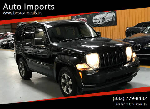2008 Jeep Liberty for sale at Auto Imports in Houston TX