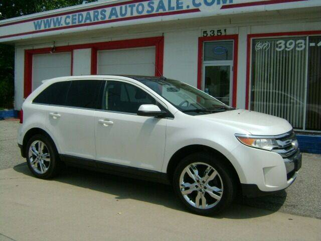 2011 Ford Edge for sale at Cedar Auto Sales in Lansing MI