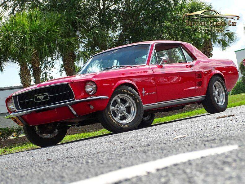 1967 Ford Mustang for sale at SURVIVOR CLASSIC CAR SERVICES in Palmetto FL