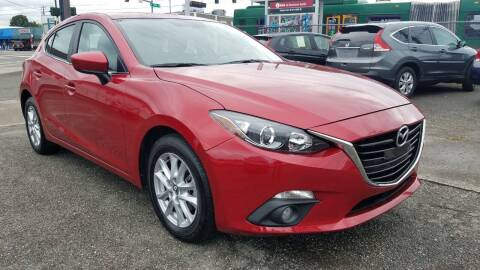 2016 Mazda MAZDA3 for sale at Seattle's Auto Deals in Seattle WA