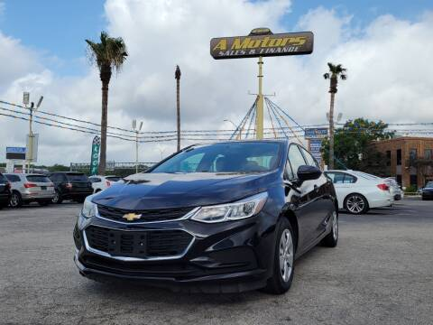 2018 Chevrolet Cruze for sale at A MOTORS SALES AND FINANCE in San Antonio TX